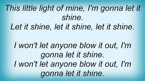 how to play this light of mine on piano raffi this light of mine lyrics