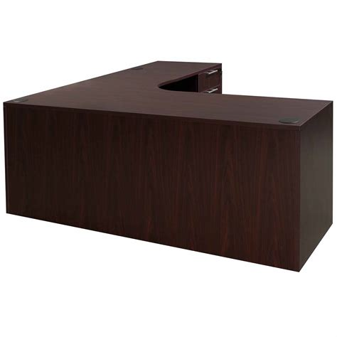 Everyday Right Return Laminate Corner Desk L Shape With Computer Desk With Return