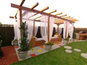 Build A Simple Pergola by Build A Pergola For A Deck Or Patio Hgtv