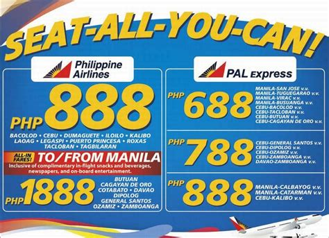 philippines airlines promo fares timepiece