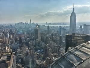 View From The Chrysler Building A View Of Manhattan From The 69th Floor Of The