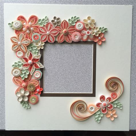 quilling design frame quilled flowers for shadow box frame quilling