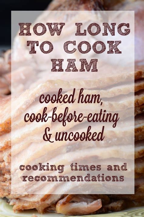 how long to cook ham recipes that crock