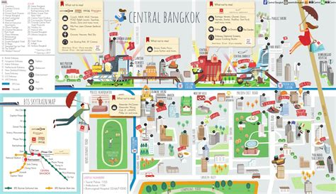 netherlands embassy bangkok map central bangkok map by travel leisure southeast asia