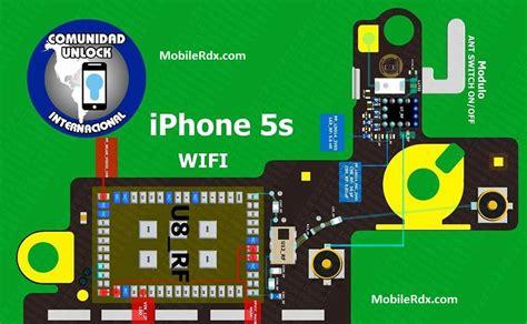 Wifi Jumper iphone 5s wi fi track ways wifi not working problem jumper solution