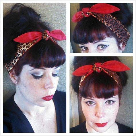 1940s bandana hairstyles 102 best images about hair assessories on pinterest