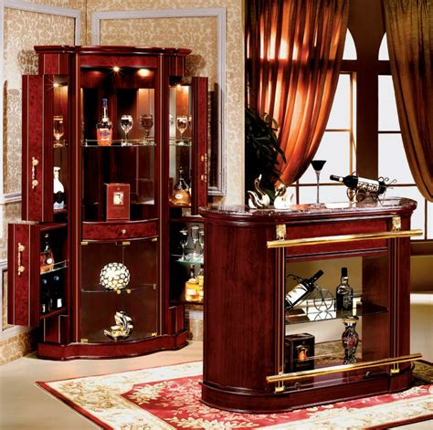 wooden home furniture glass wine mini bar cabinet 816 a
