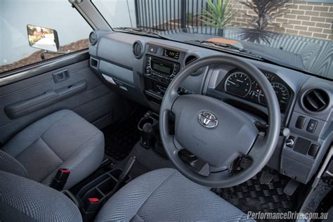 Land Cruiser 70 Interior by 2016 Toyota Landcruiser 70 Ute Review