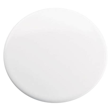 bathtub hole cover 1 1 2 in sink hole cover in white k 8830 0 the home depot