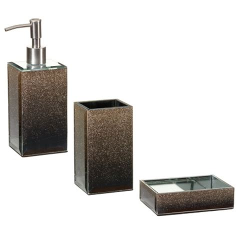 sparkle bathroom accessories glitter ombre soap dispenser bathroom accessories b m
