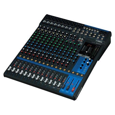 Mixer Yamaha Usb yamaha mg16xu analog usb mixer at gear4music