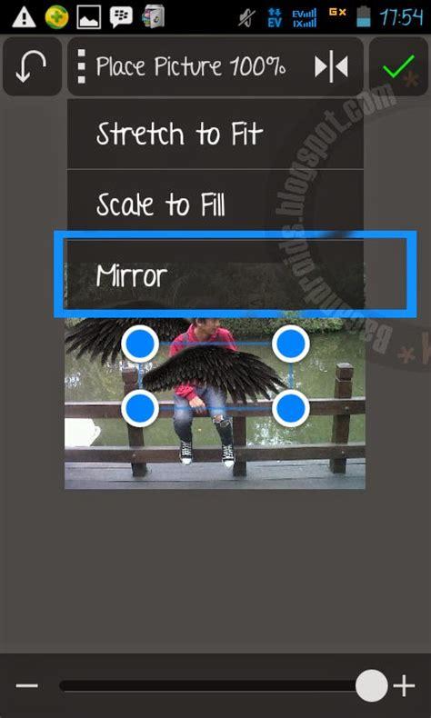 tutorial edit video di android tutorial edit foto menambahkan sayap dengan android