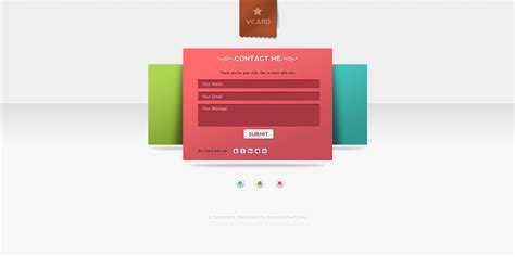 v card template v card minimal website psd templates graphicsfuel