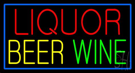 liquor signs liquor beer wine neon sign liquor neon signs every thing neon