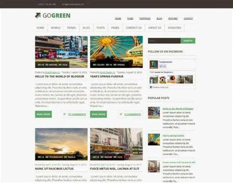 blogspot themes tech 20 free blogger templates for technology webprecis
