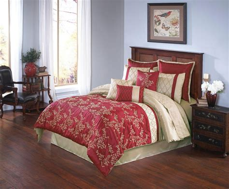 red and gold bedding merrill by hallmart collection by hallmart collection