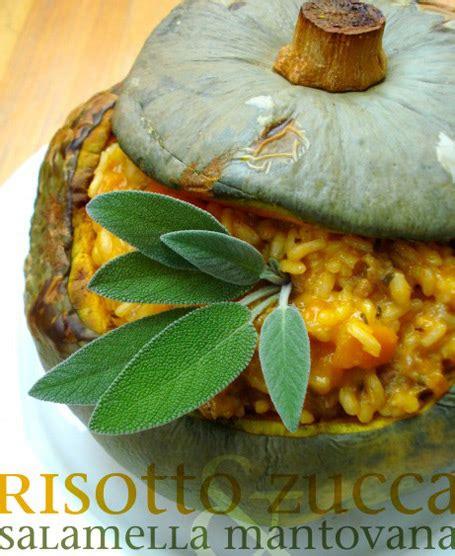 salamella mantovana ricette risotto di zucca con salamella mantovana e salvia riso gallo