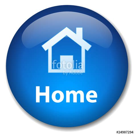 quot home web button homepage website start welcome