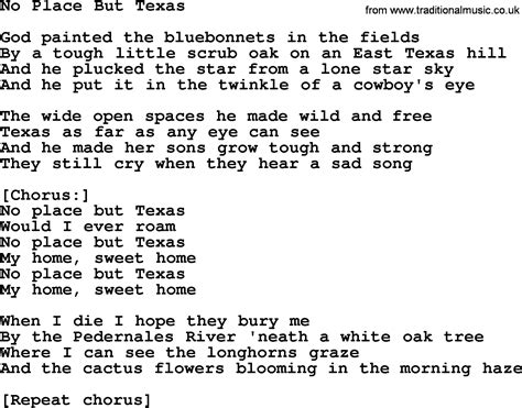 song lyrics willie nelson willie nelson song no place but lyrics