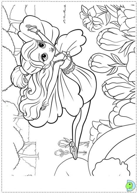 free coloring pages of thumbelina color