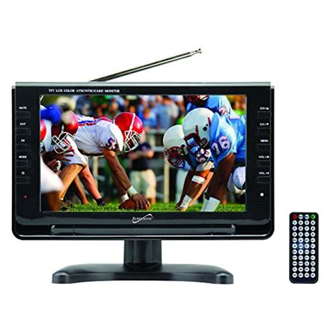 Tv Portable 9 With Usbsd Card supersonic portable widescreen lcd display with digital tv