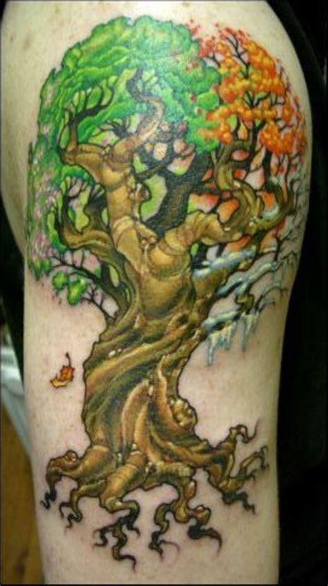 life sleeve tattoo designs 30 tree tattoos tattoofanblog
