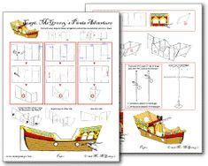 Cardboard Pirate Ship Template by 1000 Images About On Pirate