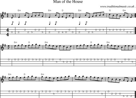 man of the house soundtrack common session tunes sheetmusic tabs for mandolin midi and mp3 for man of the house