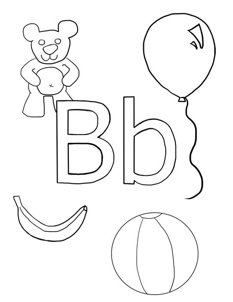 coloring page for letter b letter b coloring sheet by audiobot11 on deviantart