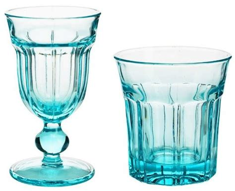 Blue Bar Glasses Beautiful Blue Drinkware In Hues Bliss Living