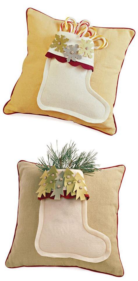 comfort and joy pillow comfort and joy stocking pillows allpeoplequilt com