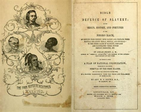 emancipation of a black atheist books a glance at the 1851 book bible defence of slavery