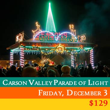 carson valley s parade of lights friday december 3