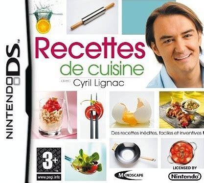 jeux 馗ole de cuisine de recette cuisine ds cyril lignac images