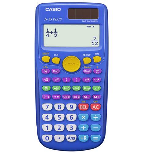 calculator of fractions casio fx 55plus fraction scientific calculator casio