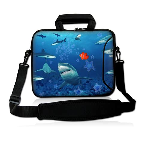 Dual Bag In Bag Pc shark laptop carrying sleeve bag cover pouch