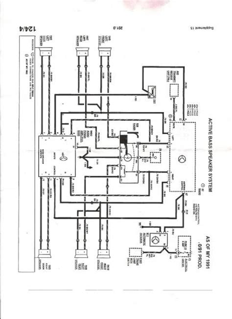 w124 factory radio wiring schematics mbworld org forums