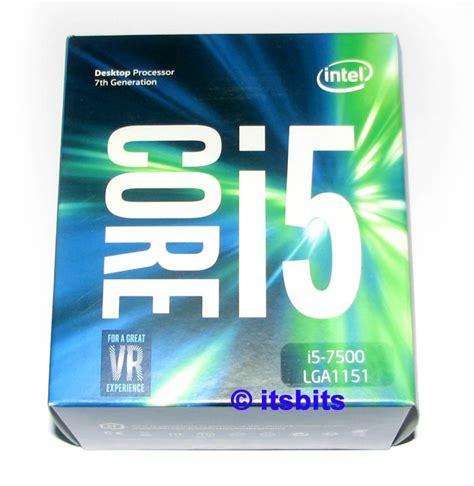 Processor I5 7500 Box Socket 1151 We48 intel i5 7500 lga 1151 gen7 3 4ghz 6mb cache cpu