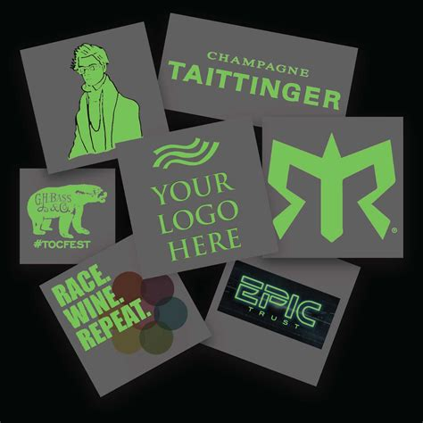 glow in the dark temporary tattoos custom glow in the temporary tattoos