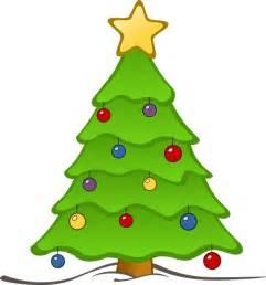 free beautiful christmas tree clip art