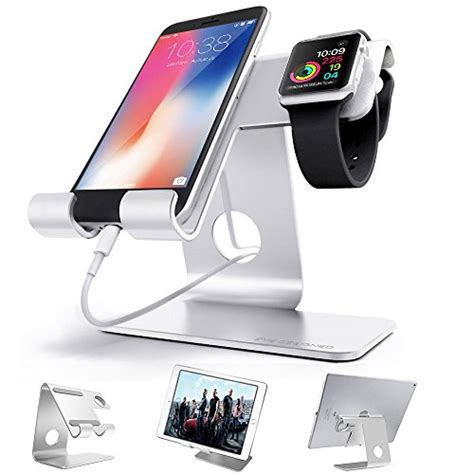 Universal Charging Dock Iphone Charger Transfer Da Murah zveproof universal 2 in 1 iphone stand dock and apple iwatch charger stand for iwatch iphone6 7