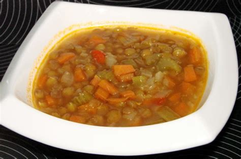 ina garten soup ina gartens lentil vegetable soup vegetarianized recipe food com