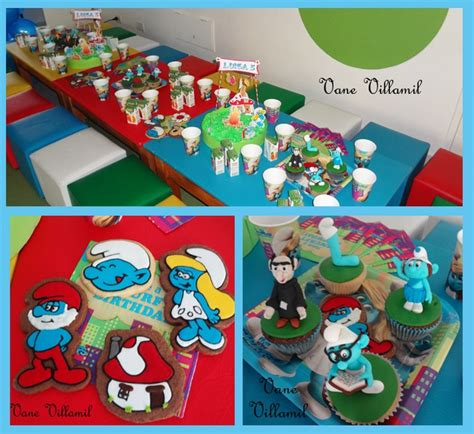 smurfs theme decorations birthday ideas the smurfs the o jays and photos