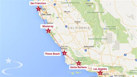 Pch To San Francisco - pacific coast highway 1 11 days itinerary from san francisco ocean california