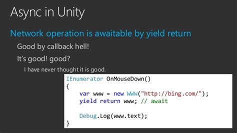 unity tutorial on intro to networking unirx reactive extensions for unity en