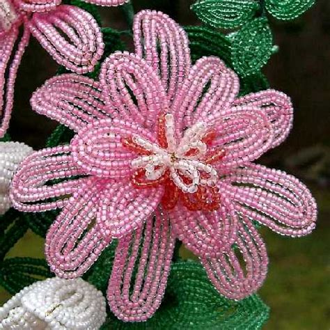 beaded flower pattern beaded flower patterns pennsylvania wreath for