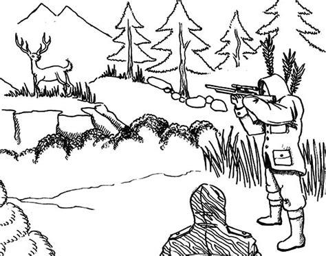 turkey hunting coloring page 88 deer hunting coloring pages click the scared