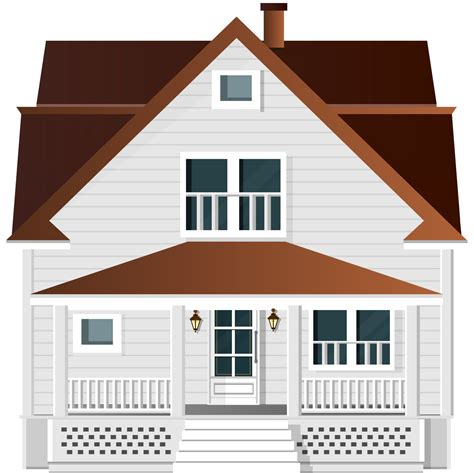 house clipart white house png clip