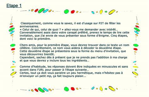 Exemple De Lettre D Invitation Humoristique Enigme Un Anniversaire Qui Passe Inaper 231 U Indices Prise2tete