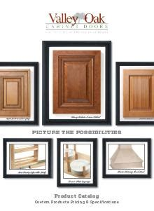 Valley Oak Cabinet Doors Valley Oak Cabinet Doors Issues Catalog Woodworking Network